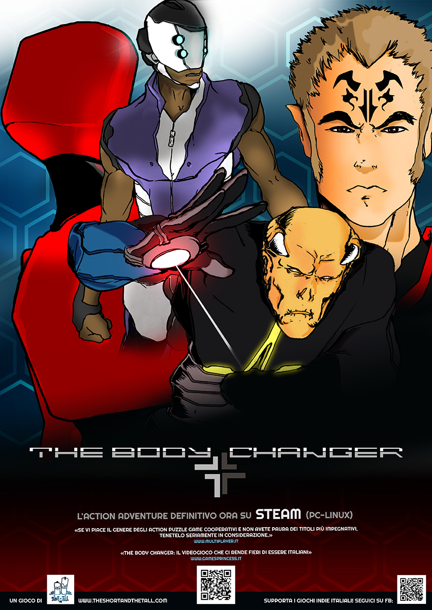 THE BODY CHANGER poster